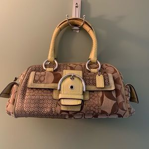 Coach Patchwork satchel handbag